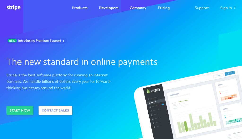 Stripe ist ein Zahlungsdienstleister, der dir ermöglicht, Online-Bezahlungen entgegenzunehmen.