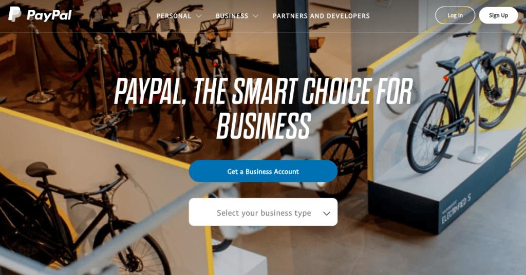 Met PayPal kun je online betalingen voor je evenement accepteren.