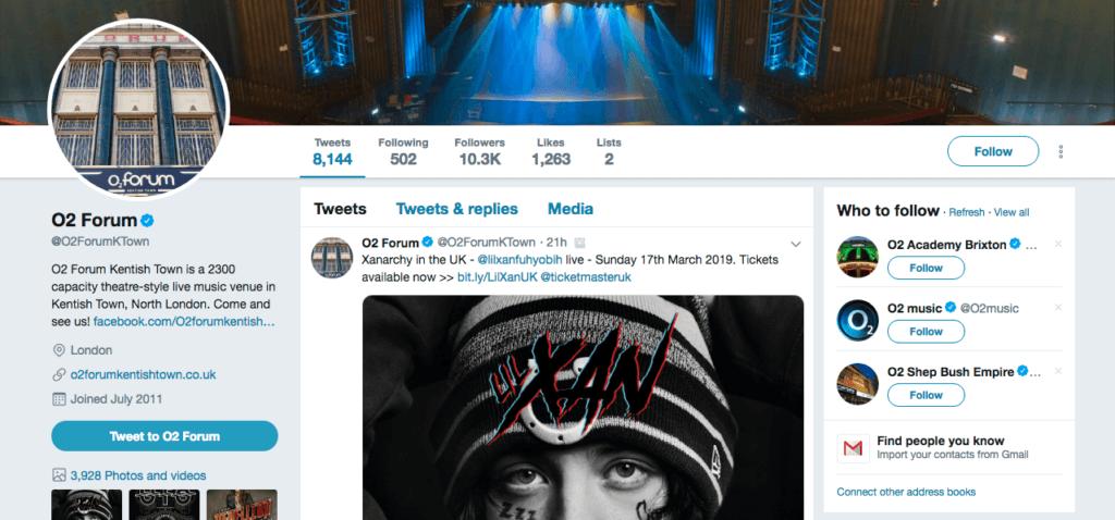 Mainostetut tilit ovat vaihtoehtoinen tapa mainostaa Twitterissä tapahtumaasi.