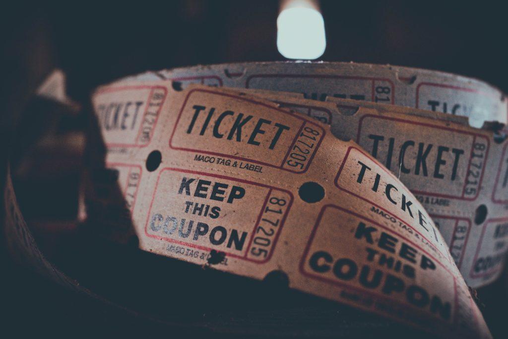 Papieren ticket