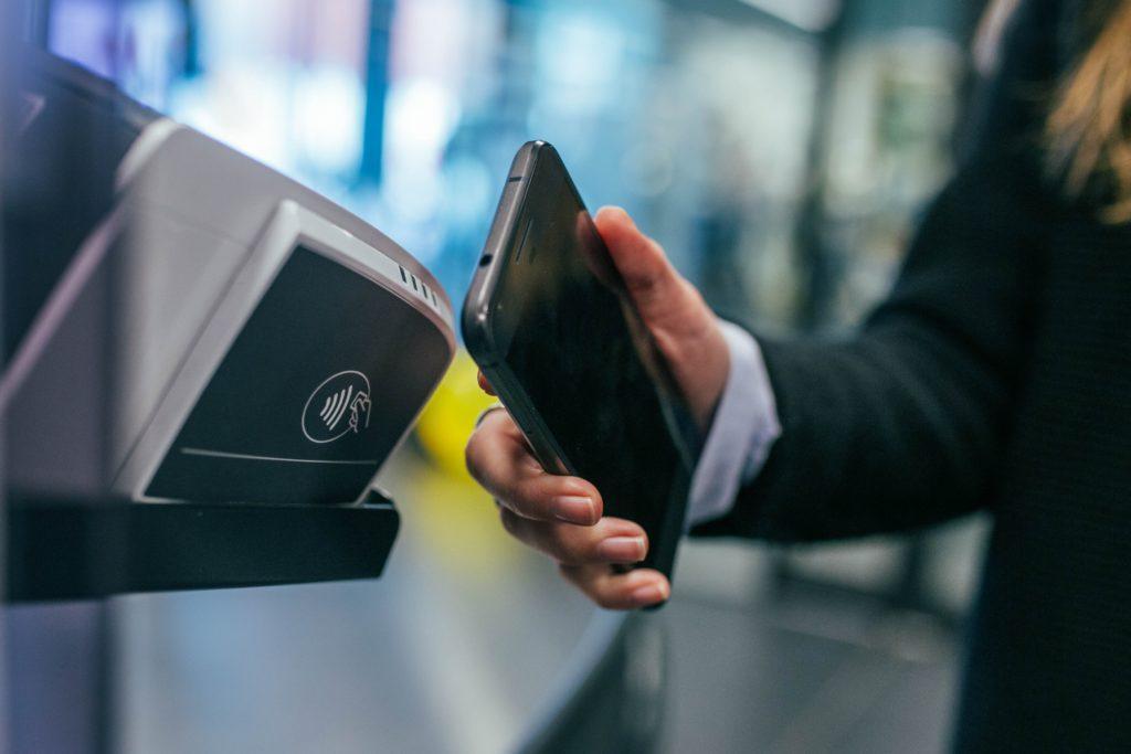 NFC betalning.