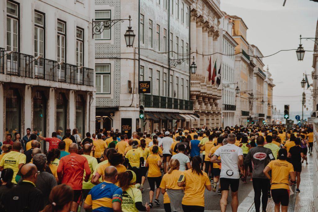 Maraton är bland de många klassiska insamlingsidéerna.