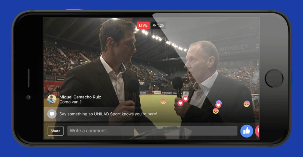 Hvordan livestreame et event på Facebook live: Gjør videoen din til anbefalt og pinn den til toppen av feedet ditt.