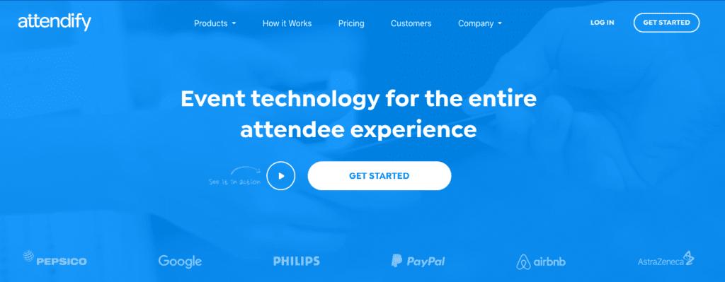 Beste evenementen-apps: Attendify