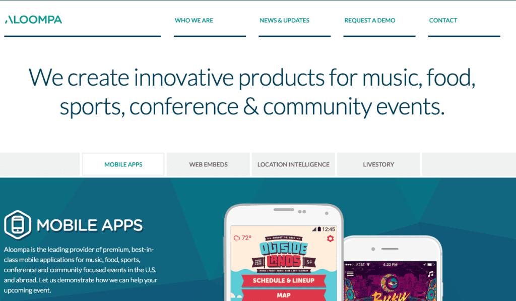 Beste evenementen-apps: Aloompa