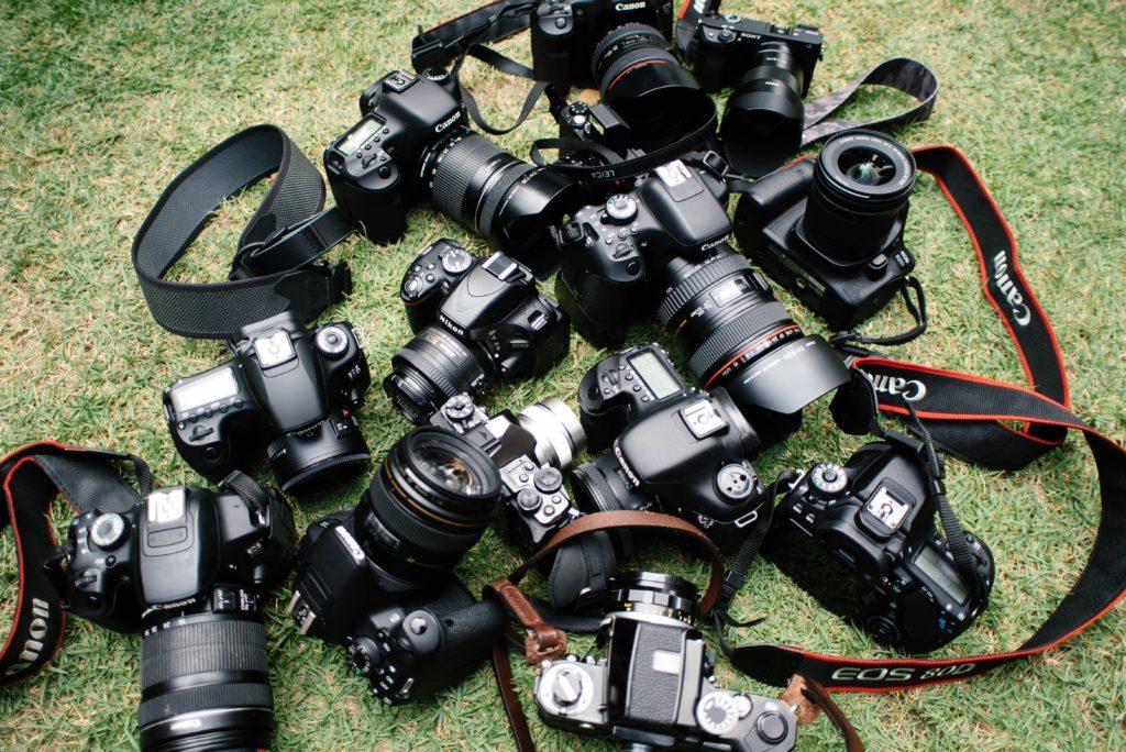 Comment trouver le bon photographe d'évènement : Parler de l'équipement.