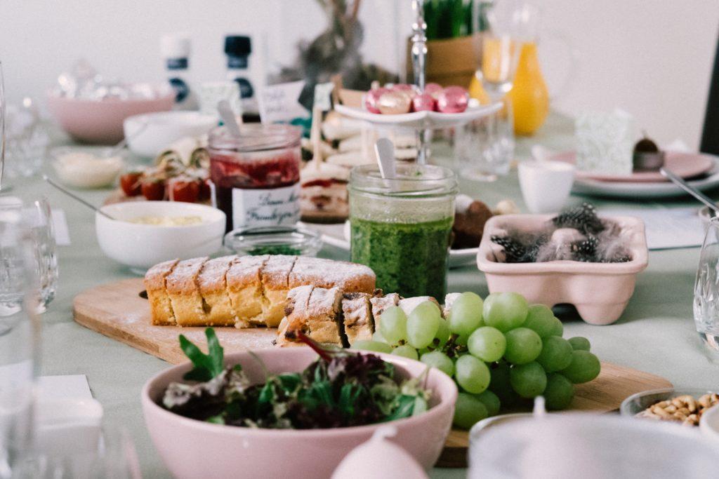 Slut på mors dag idéer för event? Mat fungerar alltid!