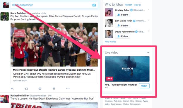 Hur du live streamar ett evenemang på Twitter: Så här visas din live stream.