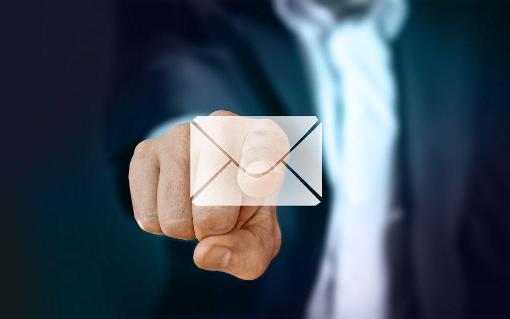 Slik distribuerer du din eventpressemelding: Send inn.