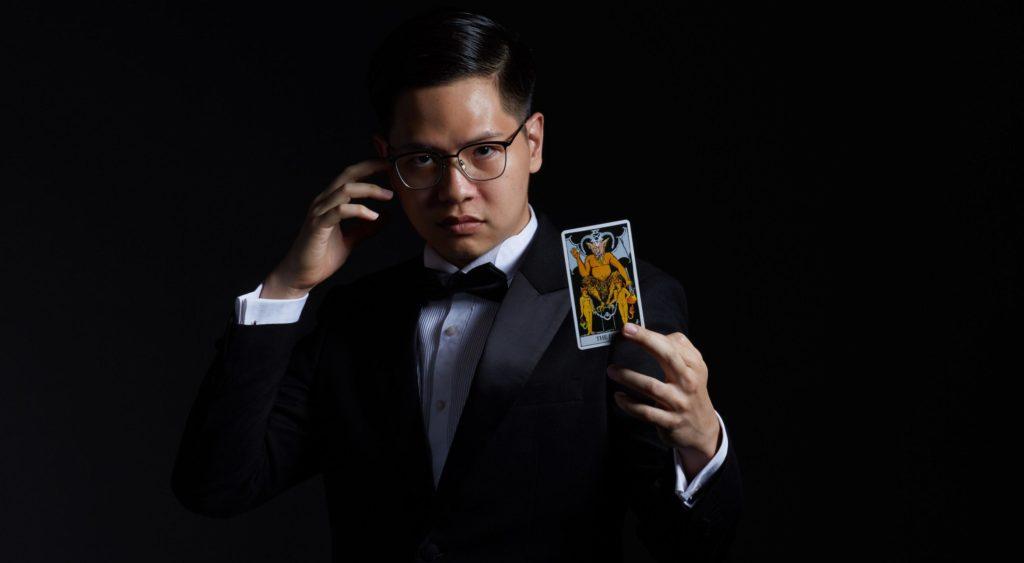 En tryllekunstner som dette er blot en af mange idéer til firmaevents.