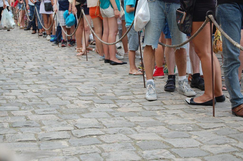 Gästincheckning vid evenemang: Undvik långa köer.