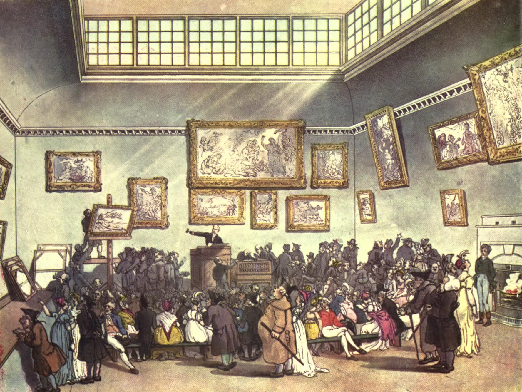 Du behöver inte hålla i en auktion som det var på 1700-talet.